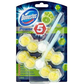 WC blok DOMESTOS Power 5 Lime 2 x 55 g (8710908523922)
