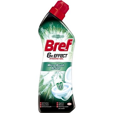 WC gel BREF WC 6×EFFECT Micro Bruhs Action 750 ml (9000101073706)