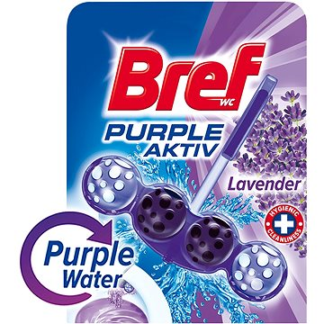 WC blok BREF Purple Aktiv 50 g (9000101089318)