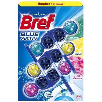 WC blok BREF Blue Aktiv Mix 3 x 50g (9000101302592)