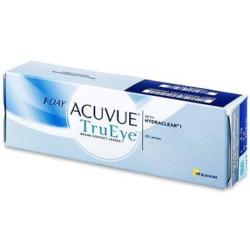 Kontaktní čočky 1 Day Acuvue TruEye (30 čoček) dioptrie: -9.50, zakřivení: 8.50 (733905797682