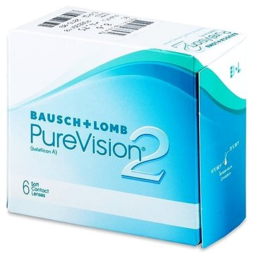Kontaktní čočky PureVision 2 HD (6 čoček) dioptrie: +4.50, zakřivení: 8.60 (785811038175)