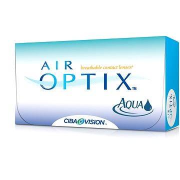 Kontaktní čočky Air Optix Aqua (6 čoček) dioptrie: +0.50, zakřivení: 8.60