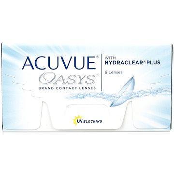 Kontaktní čočky Acuvue Oasys (6 čoček) dioptrie: -4.25, zakřivení: 8.40 (733905562808)