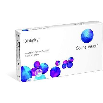 Kontaktní čočky Biofinity (6 čoček) dioptrie: -10.50, zakřivení: 8.60 (829196726828)