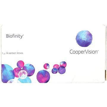 Kontaktní čočky Biofinity (6 čoček) dioptrie: -3.75, zakřivení: 8.60 (829196662140)