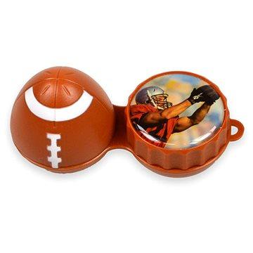 Pouzdro na kontaktní čočky Pouzdro 3D rugbyový míč (WOP3D0006)