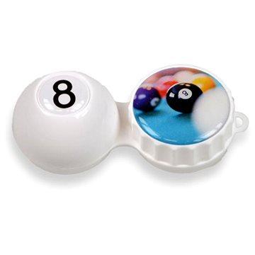 Pouzdro na kontaktní čočky Pouzdro 3D kulečník (WOP3D0010)