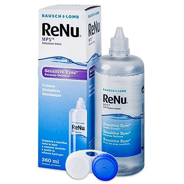 Roztok ReNu MPS Sensitive Eyes 360 ml s pouzdrem (7391899840611)