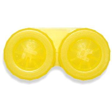 Pouzdro na kontaktní čočky Pouzdro klasické (náhradní) jednobarevné Žluté (WOPNP1)