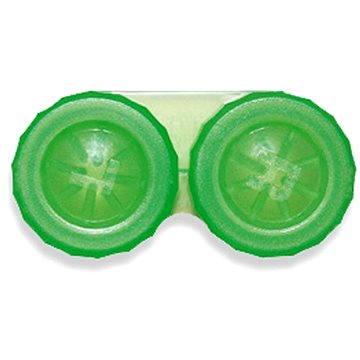 Pouzdro na kontaktní čočky Pouzdro klasické (náhradní) jednobarevné Světle zelené (WOPNP2)