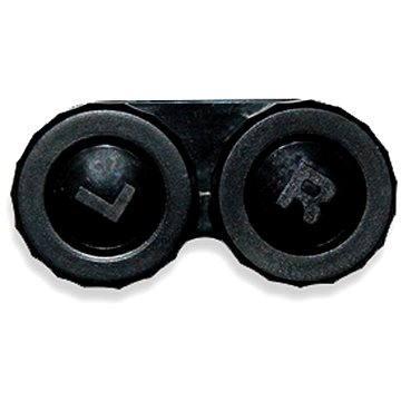 Pouzdro na kontaktní čočky Pouzdro klasické (náhradní) jednobarevné Černé (WOPNP3)