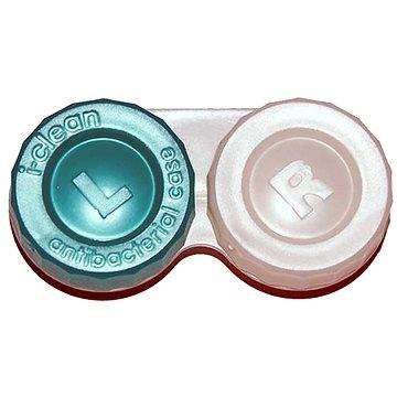 Pouzdro na kontaktní čočky Anti-bakteriální pouzdro - Zelené (WOPAB3)