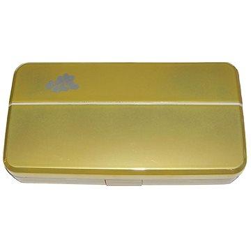 Pouzdro na kontaktní čočky Dvojitá sestava zlatá (WKPDSZ)