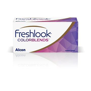 FreshLook ColorBlends - nedioptrické (2 čočky) barva: Brilliant Blue
