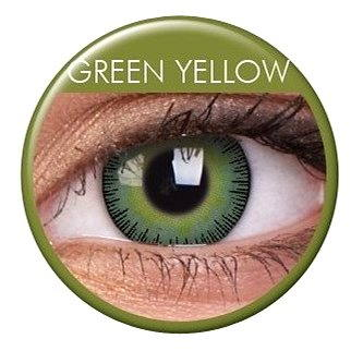 ColourVUE - Fusion (2 čočky) barva: Green Yellow