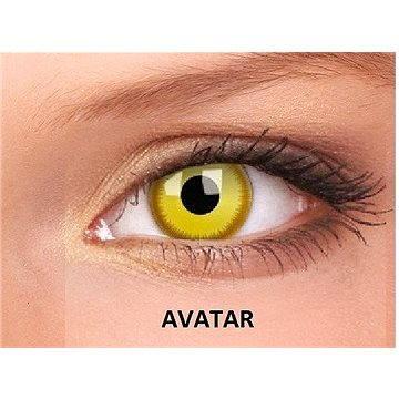 Crazy ColourVUE (2 čočky) barva: Avatar