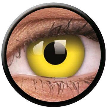 Kontaktní čočky ColourVUE Crazy Lens (2 čočky), barva: Yellow (9555644811815)