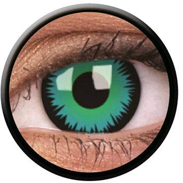 Kontaktní čočky ColourVUE Crazy Lens (2 čočky), barva: Green Wolf (9555644812249)