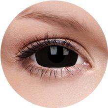 Kontaktní čočky ColourVUE Crazy Lens (2 čočky), barva: Black Titan (9555644811464)