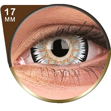 Kontaktní čočky ColourVUE Crazy Lens (2 čočky), barva: Galactus (9555644830830)