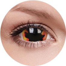 Kontaktní čočky ColourVUE Crazy Lens (2 čočky), barva: Blackhole Sun (9555644811426)