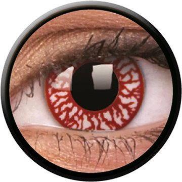 Kontaktní čočky ColourVUE Crazy Lens (2 čočky), barva: Blood shoot (9555644832797)