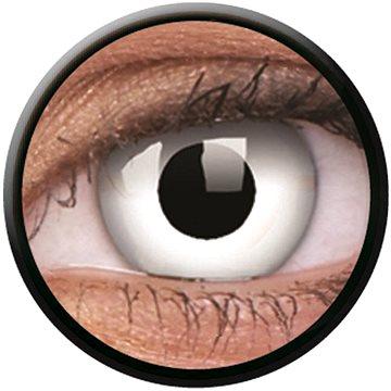 Kontaktní čočky ColourVUE Crazy Lens (2 čočky), barva: White out (9555644825621)