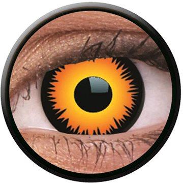 Kontaktní čočky ColourVUE Crazy Lens (2 čočky), barva: Orange Werewolf (9555644825645)