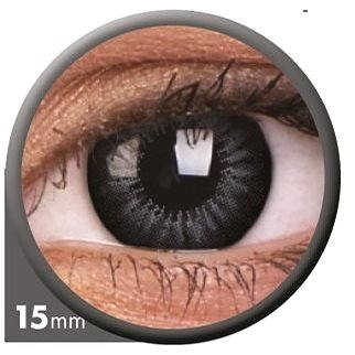 Kontaktní čočky ColourVUE dioptrické Big Eyes (2 čočky), barva: Be evening grey, dioptrie: -1.00 (9555644802936)
