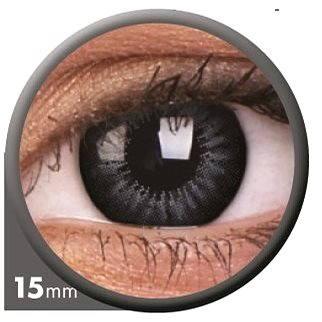 Kontaktní čočky ColourVUE dioptrické Big Eyes (2 čočky), barva: Be evening grey, dioptrie: -6.50 (9555644803124)