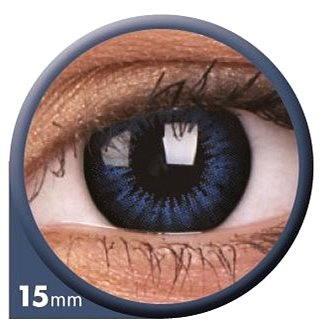 Kontaktní čočky ColourVUE dioptrické Big Eyes (2 čočky), barva: Be cool blue, dioptrie: -6.50 (9555644803902)