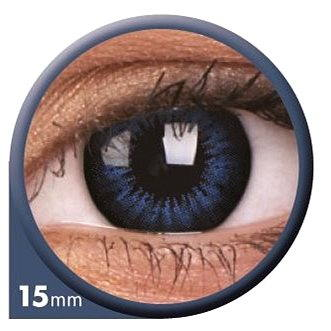Kontaktní čočky ColourVUE dioptrické Big Eyes (2 čočky), barva: Be cool blue, dioptrie: -8.00 (9555644803933)