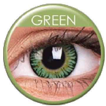 Kontaktní čočky ColourVUE dioptrické 3 Tones (2 čočky), barva: Green, dioptrie: -1.00 (9555644800338)