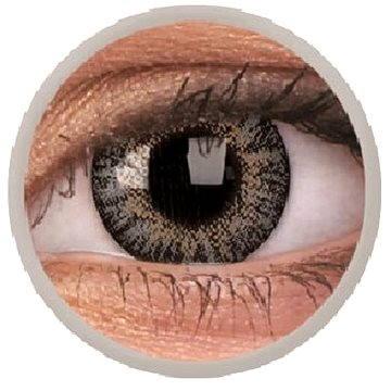 Kontaktní čočky ColourVUE dioptrické TruBlends (10 čoček), barva: Grey, dioptrie: -4.00 (9555644828561)