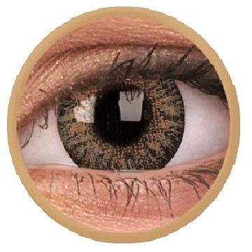 Kontaktní čočky ColourVUE dioptrické TruBlends (10 čoček), barva: Brown, dioptrie: -3.50 (9555644828783)