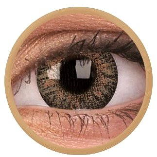 Kontaktní čočky ColourVUE dioptrické TruBlends (10 čoček), barva: Brown, dioptrie: -4.50 (9555644828820)