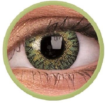Kontaktní čočky ColourVUE dioptrické TruBlends (10 čoček), barva: Green, dioptrie: -5.25 (9555644829339)