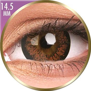 Kontaktní čočky ColourVUE dioptrické Phantasee Big Eyes (2 čočky), barva: Angel Hazel, dioptrie: -4.25 (9555644820947)