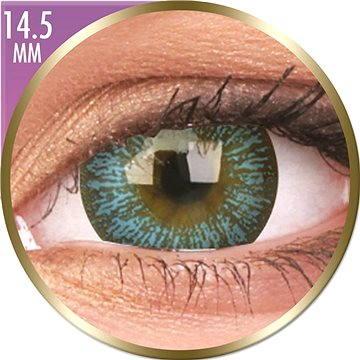 Kontaktní čočky ColourVUE dioptrické Phantasee Big Eyes (2 čočky), barva: Maya Blue , dioptrie: -0.50 (9555644823177)