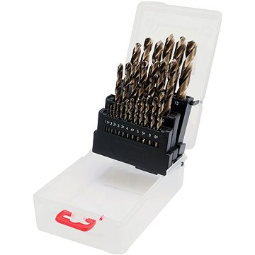 Sada vrtáků na kov 25ks HSS-COBALT 1-13mm (5906083416057)