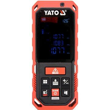 YATO Laserový měřič vzdálenosti 0.2-40M, 10 režimů (5906083029295)
