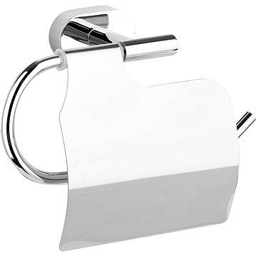 Držák toaletního papíru s krytem Oval Chrom (5906083028083)