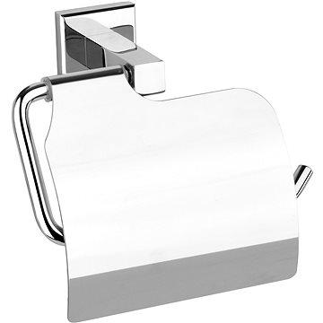 Držák toaletního papíru s krytem Quad Chrom (5906083028182)