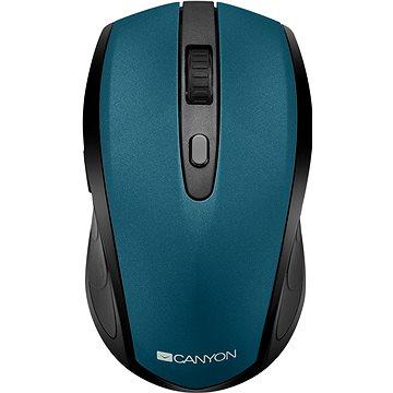 Canyon optická myš Bluetooth / Wireless zelená (CNS-CMSW08G)