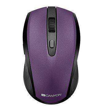 Canyon optická myš Bluetooth / Wireless fialová (CNS-CMSW08V)