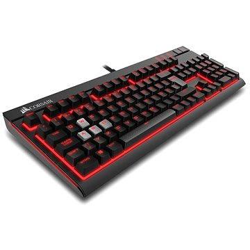 Corsair Gaming STRAFE RED LED Cherry MX Red (CZ) (CH-9000088-CZ) + ZDARMA Myš Corsair Harpoon RGB Gaming mouse
