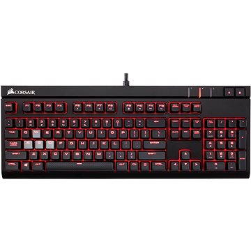 Corsair Gaming STRAFE RED LED Cherry MX Blue (CZ) (CH-9000226-CZ) + ZDARMA Myš Corsair Harpoon RGB Gaming mouse