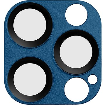 COTEetCI sklo na fotoaparát pro Apple iPhone 12 Pro Max 6.7'' modré (CS2223-BL)