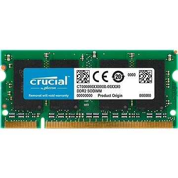 Crucial SO-DIMM 2GB DDR2 667MHz CL5 pro Mac (CT2G2S667MCEU)